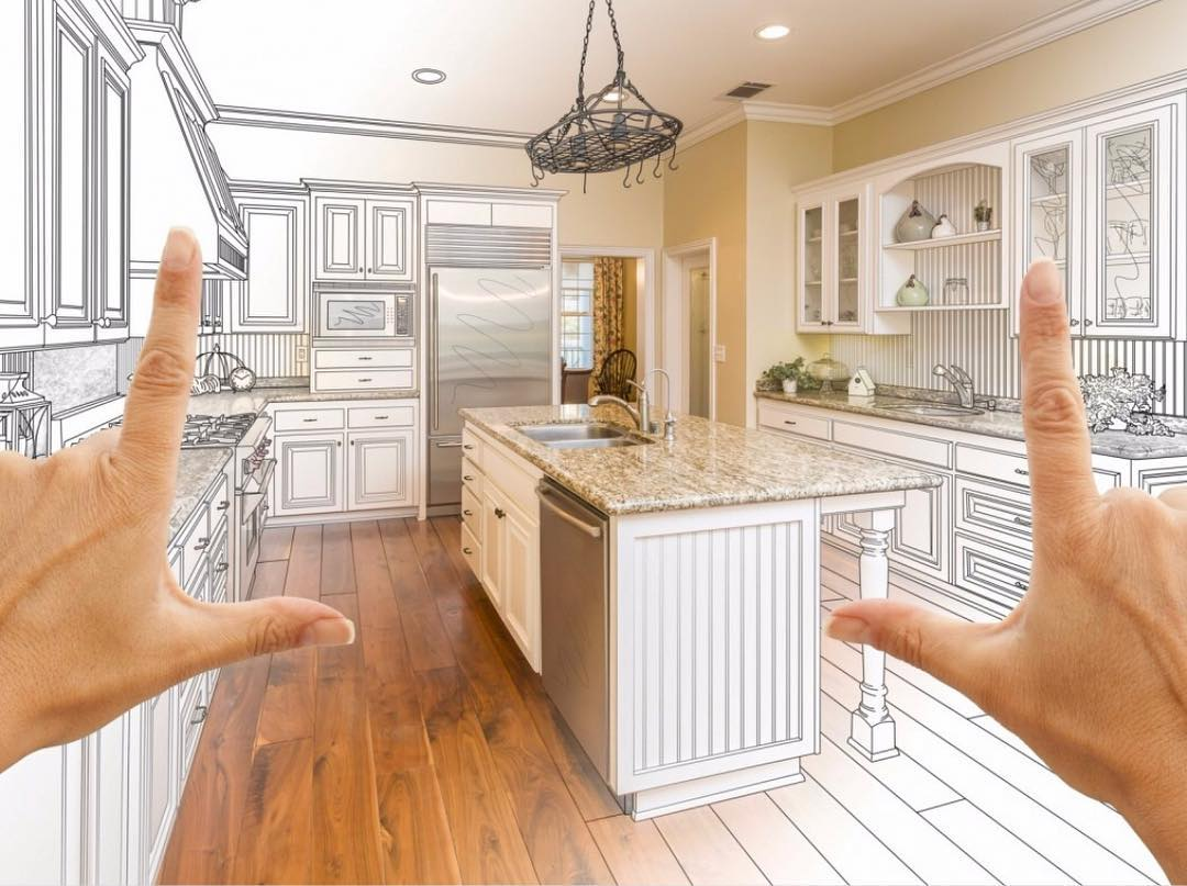 Snapshot of a concept dream kitchen becoming reality
